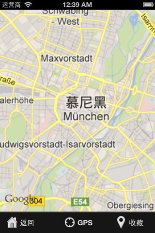 慕尼黑自由行地图
