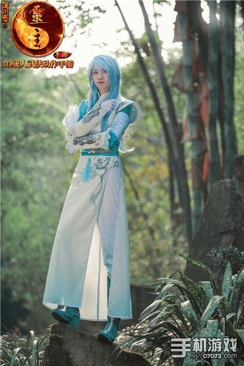 画江湖之灵主手游官方cosplay正式发布图片
