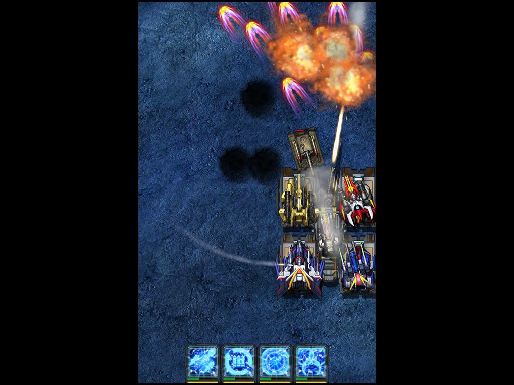 手机游戏机战坦克
