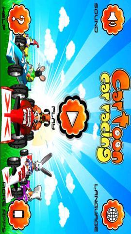 卡通赛车3d趣味赛车游戏